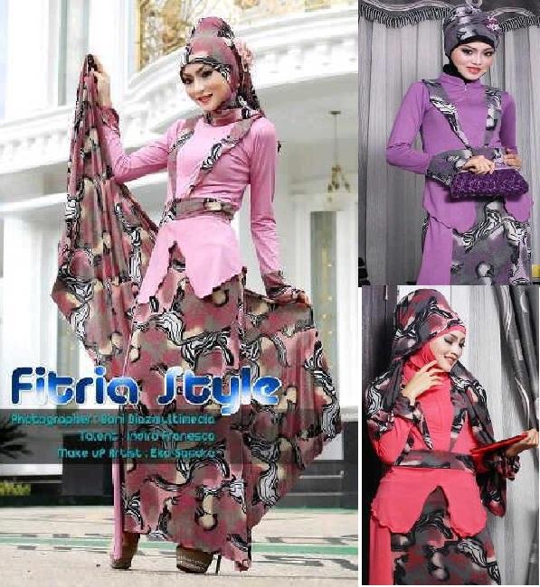 Baju Gamis Ethnic Glamora By Fitria Style Rp