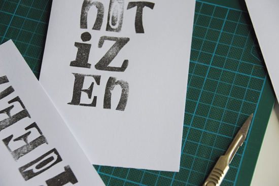 binedoro Blog, Druckvorlage, Notizhefte, Cover, free printable, Tutorial