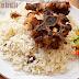 Nasi Kebuli Kambing dengan Rice Cooker