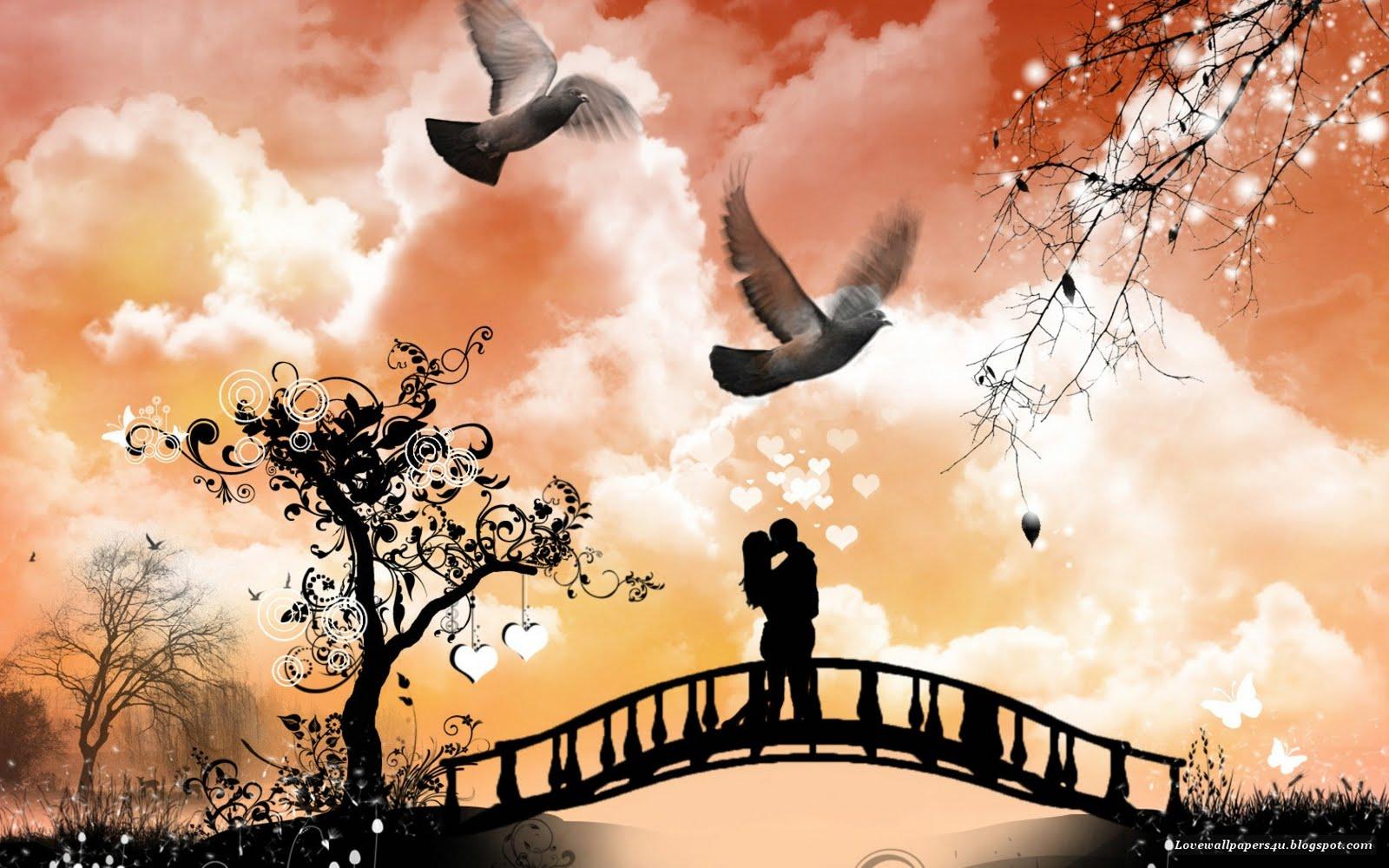 Love Wallpaper Romantic Kiss