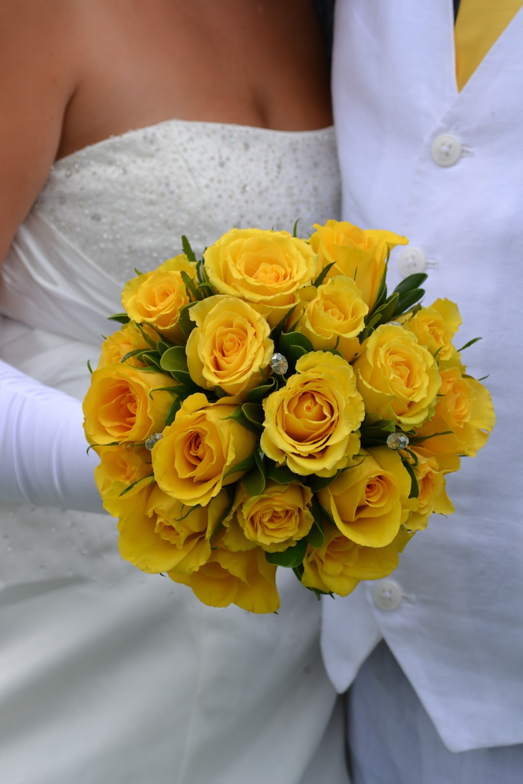 Flowers of the Day: Yellow Roses