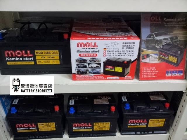 【唯一德製】莫爾MOLL電池
