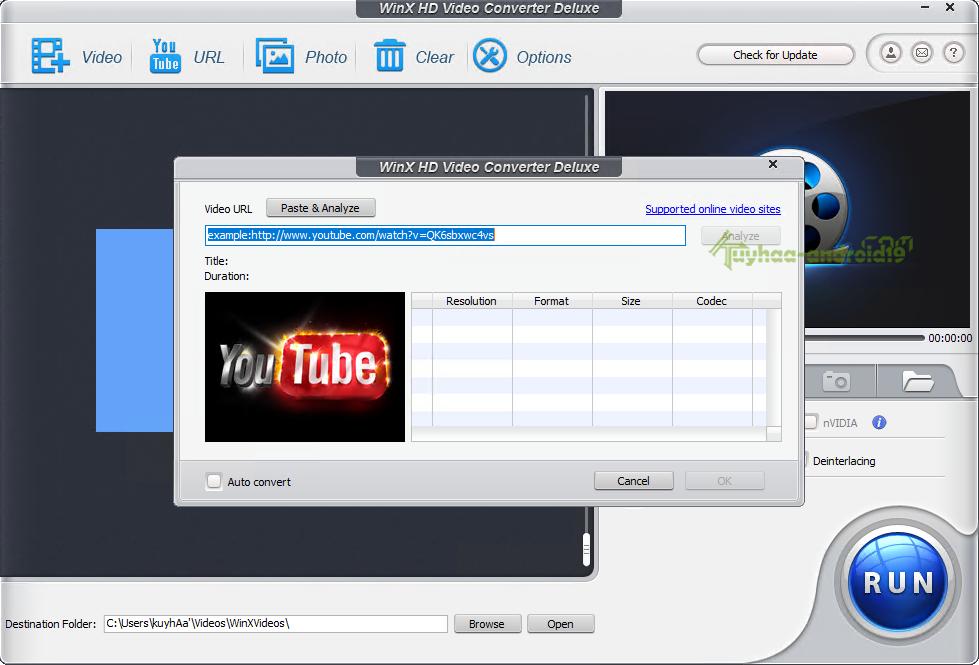 WinX HD Video
