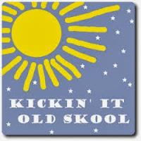 Kickin' It Old Skool Badge