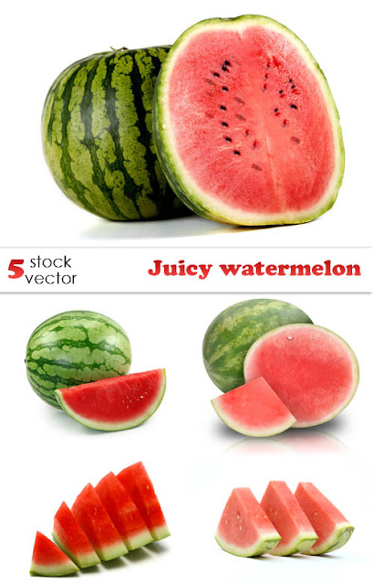 Stock Photos - Juicy Watermelons