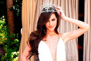 Olesya Stefanka Miss Universe 2011 HD Wallpaper