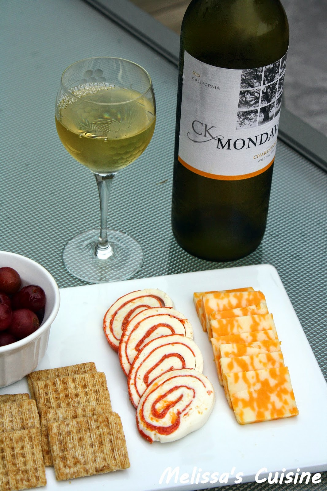 Melissa's Cuisine: Celebrate the 4th of July with CK Mondavi!  Sampler Platter Ideas