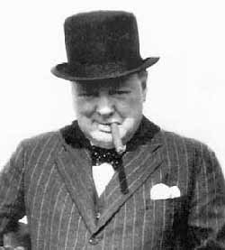 winston churchill sitater