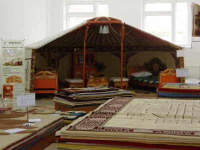 Монгольские ковры