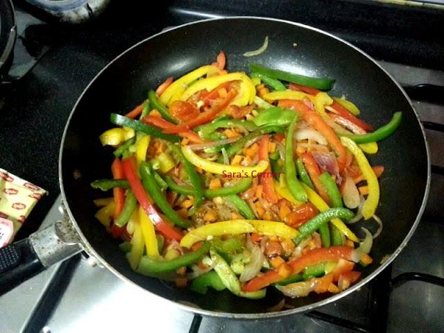veggie wrap | mexican wrap indian style !
