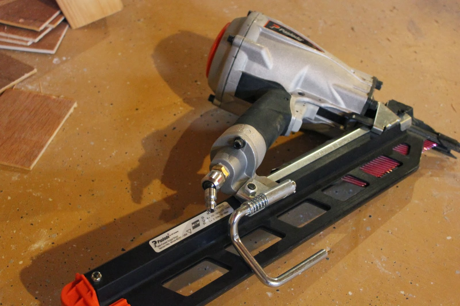Paslode Framing Nailer Model F350S - Tool Review Made in America ...