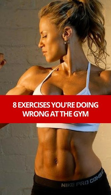Correct these exercise mistakes and make your effort count. #fitness #health #workout