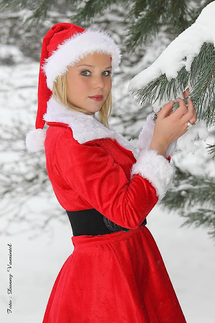 santa girl dress