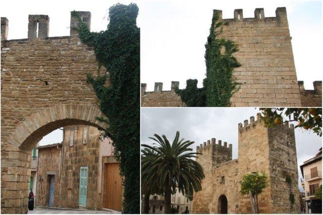 Murallas en Alcudia, Mallorca