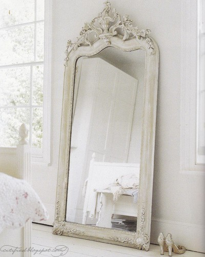 Vintage mirrors for Grand miroir long