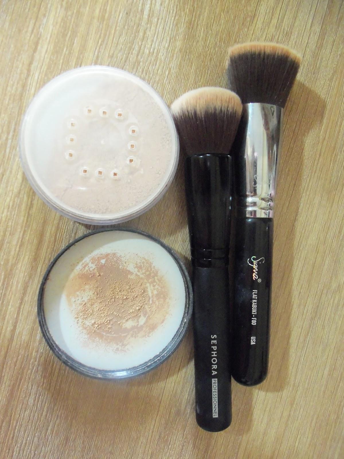 youngblood mineral foundation powder kabuki brush