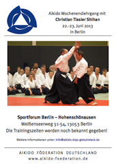 Tissier Shihan in Germany