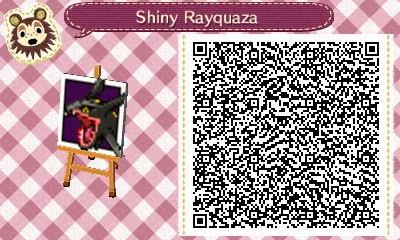 Shiny Rayquaza Pattern