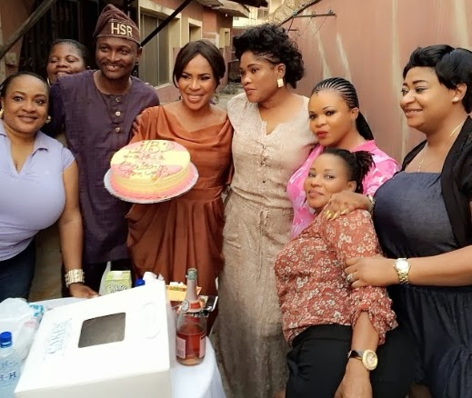 fathia balogun birthday party