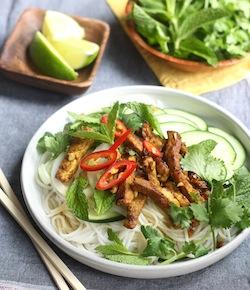 vietnamese grilled pork noodles recipe=