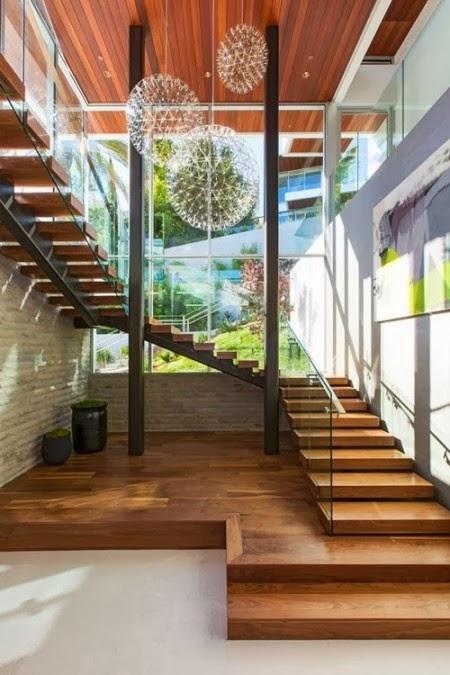 blogdeprueba: 30 Tipos de escaleras de madera para casas modernas