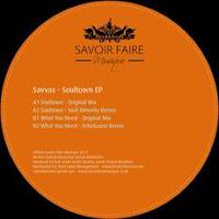 Savvas Soultown EP Savoir Faire Musique