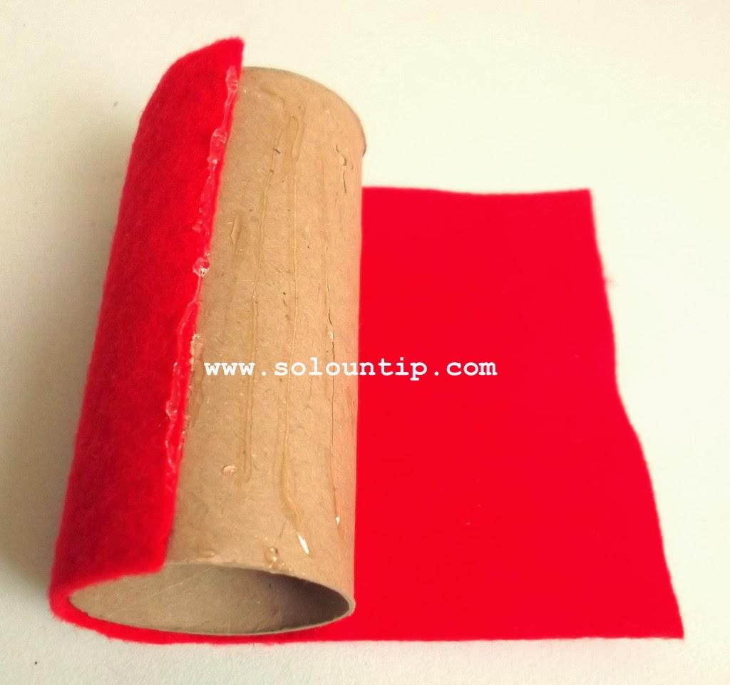Manualidades navide as para hacer en casa - Manualidades con rollos de papel higienico navidenos ...