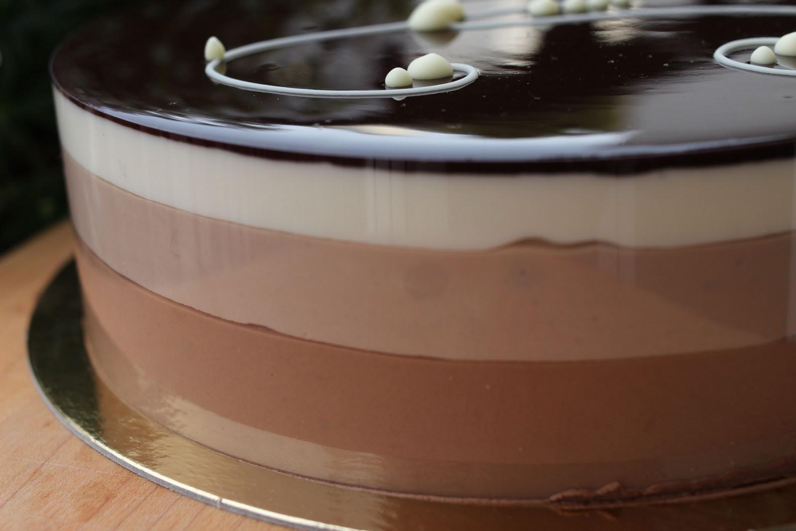 Welcome To Talita S Kitchen Bavarois Aux Trois Chocolats