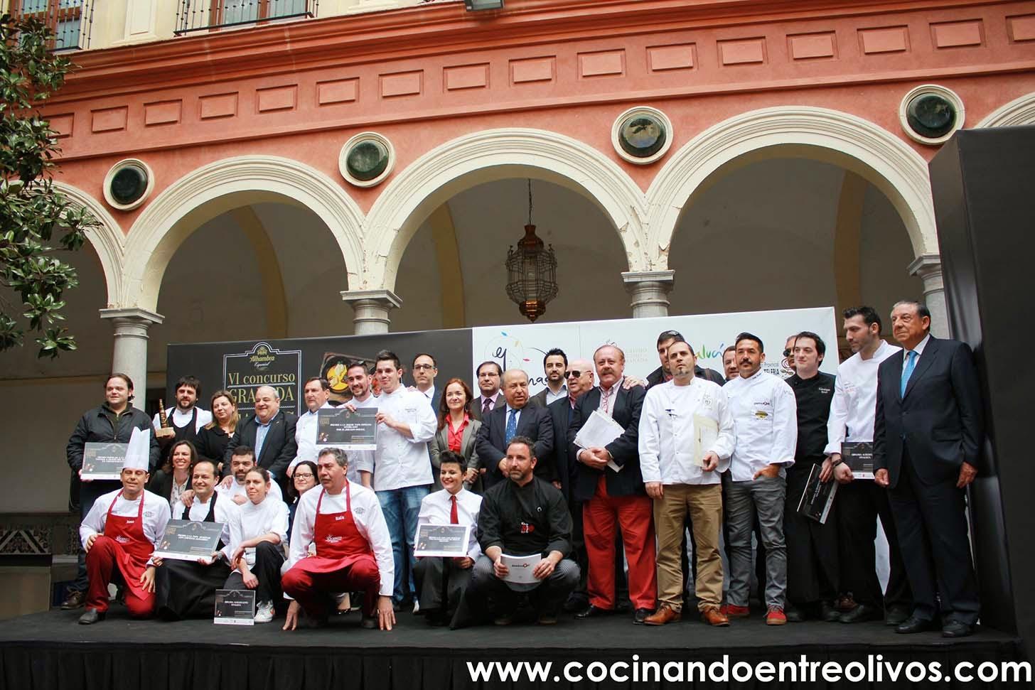 Cocinando entre olivos ganadores concurso granada de for Cocinando entre olivos