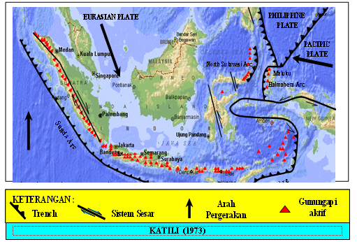 Mengapa Banyak Gunung Api di Indonesia?