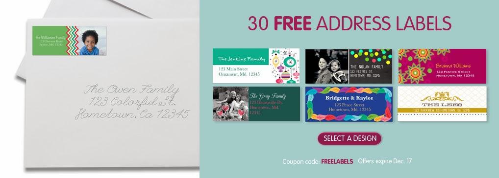 30 Free Address Labels + Custom Mouse Pads $3.99 (Reg $8 ...