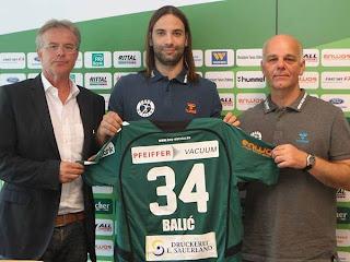 Ivano Balic presentado como jugador del HSG Wetzlar | Mundo Handball