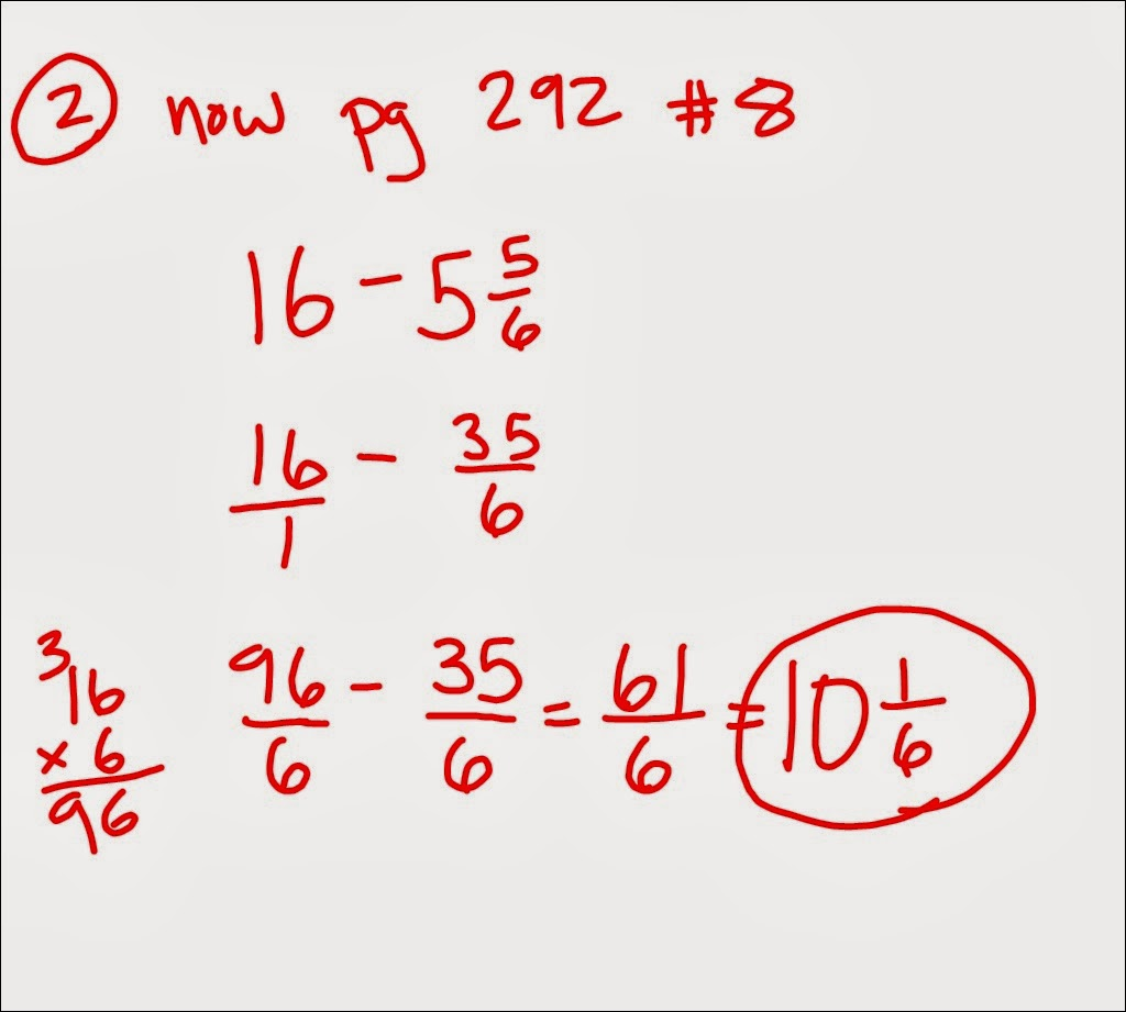 Negative Number Line With Fractions 10-7-13 3rd and 4th period