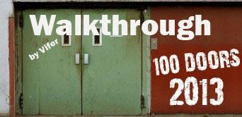 100 Doors 2013 walkthrough