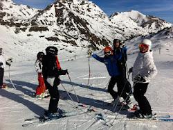 Seguimos esquiando