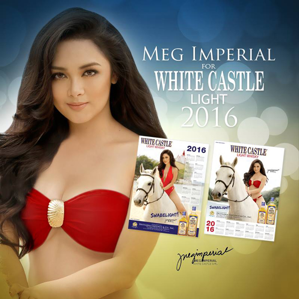 Meg Imperial White Castle's Calendar Girl for 2016