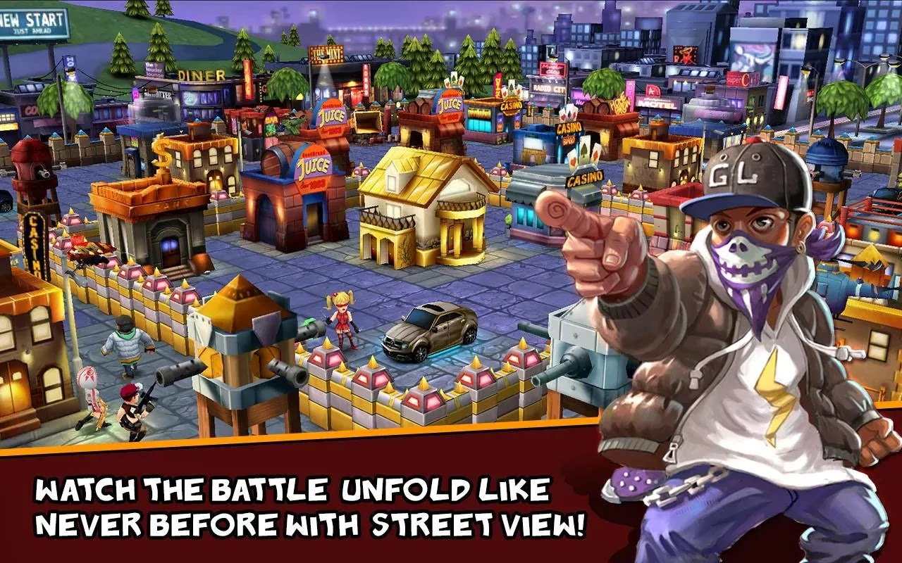 Clash Of Gangs v1.1.33 Mod