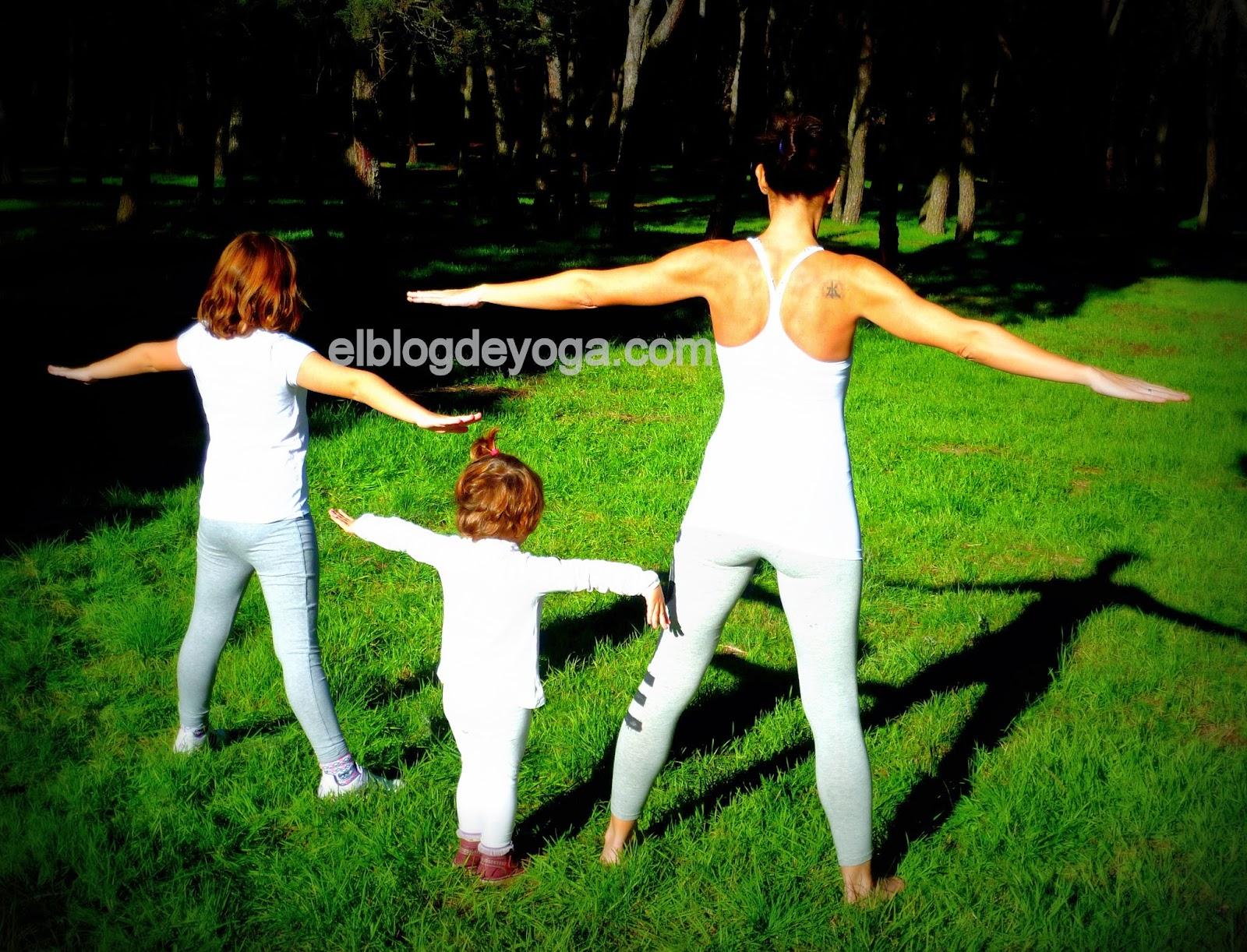 En Navidad....¡yoga para niños!