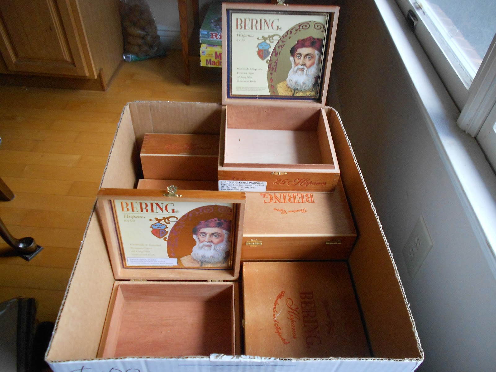 How we spend our days cigar box craft for Cigar boxes for crafts