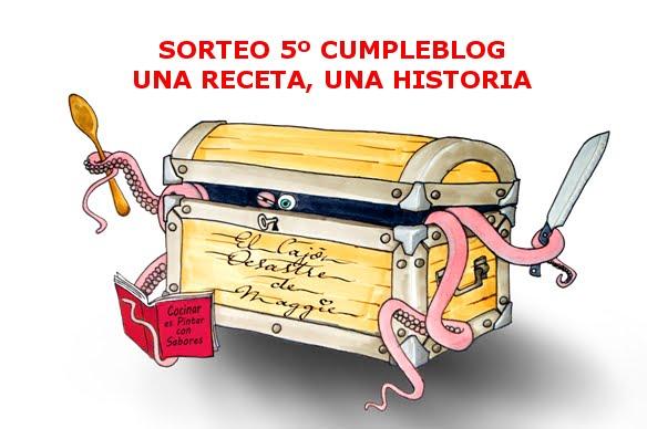 SORTEO 5 CUMPLEBLOG