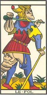 Arcano 22: O Louco / Tolo, carta do tarô, tarot, baralho de marselha