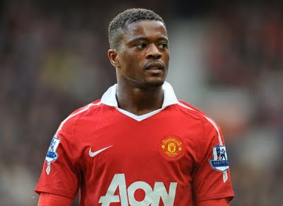 Patrice Evra Left Back Manchester United Photos 2011-2012