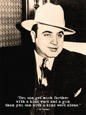 Capone Quote - InspiriToo.