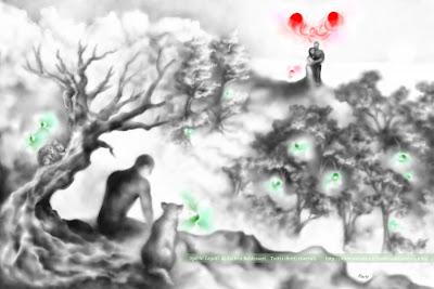 spiriti legati disegno
