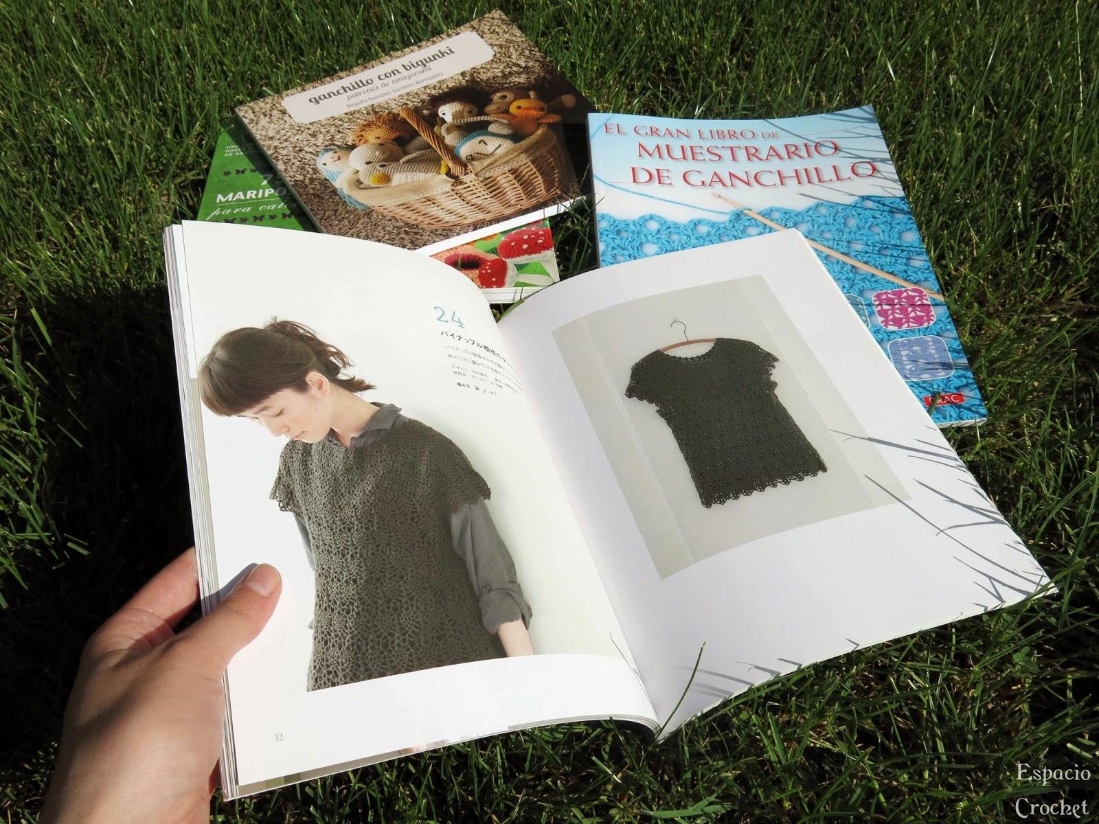 Libros para tejer | Espacio Crochet