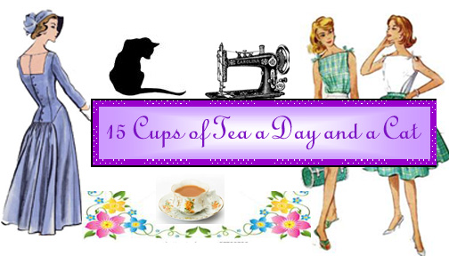 Fifteen Cups of Tea a day and a Cat