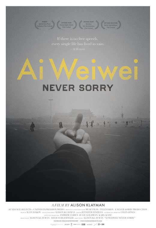 Watch Ai Weiwei: Never Sorry Movie Online Free 2012