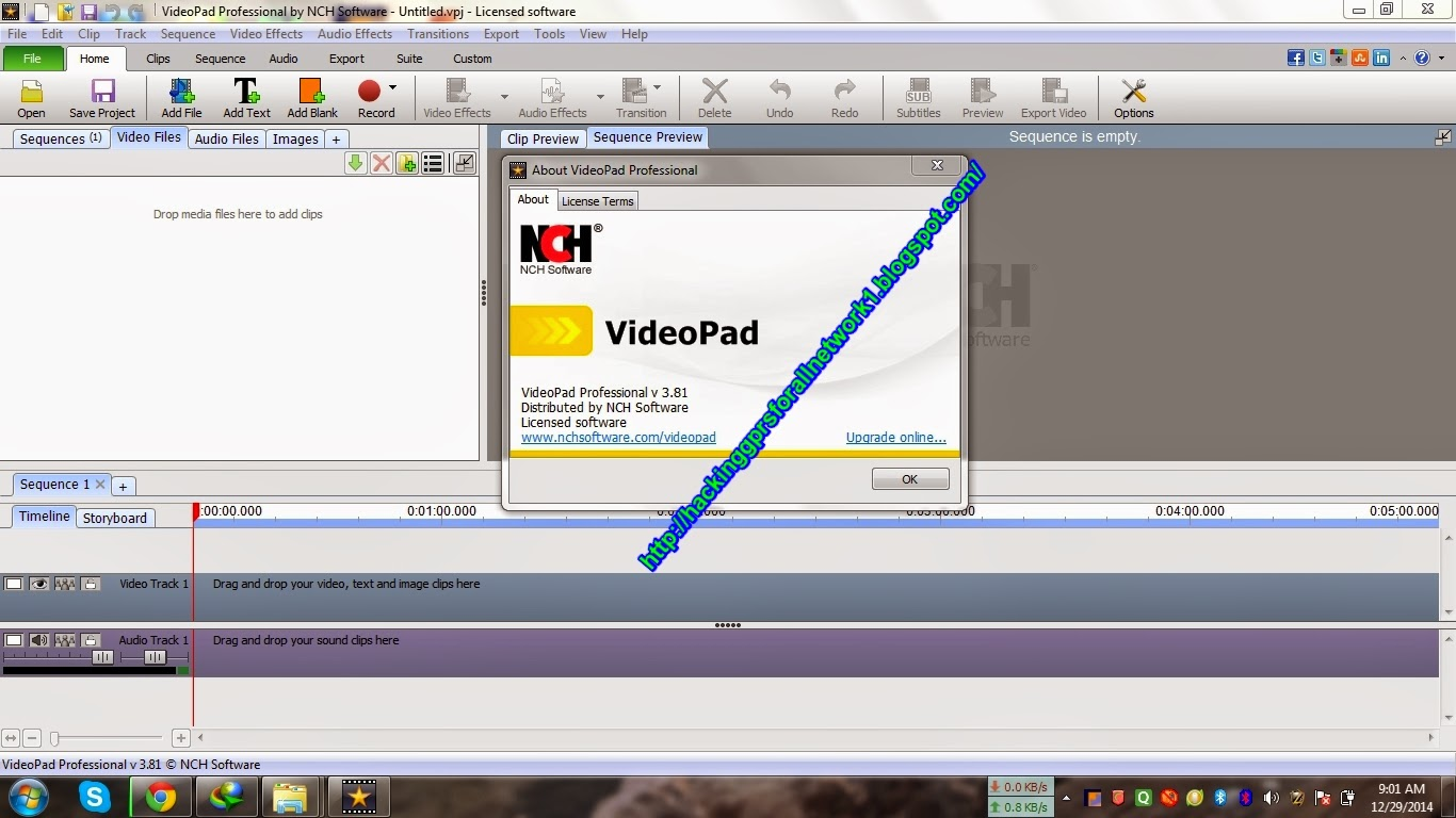 Video Pad Editor Full Cracked