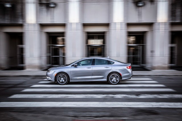 The 2015 Chrysler 200 Takes Home Top IIHS Honors For Safety
