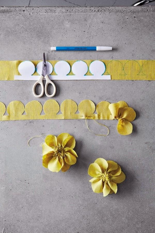 Favorito Le Frufrù: Spille con i fiori di stoffa LF15